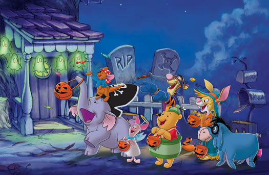 poohs heffalump halloween movie 2005 - Winnie The Pooh Heffalump Halloween