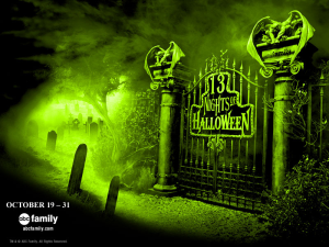 "ABC Family's 15th Annual ""13 Nights of Halloween"" Holiday Programming Event runs October 19th - 31st 2013"