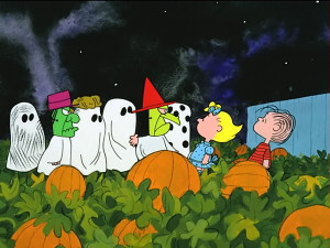 It's the Great Pumpkin, Charlie Brown scheduled to air on TV Thursday, October 31, 2013 on ABC