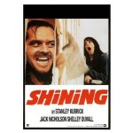 The Shining (1980) Movie Poster with Ax