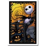 The Nightmare Before Christmas (1993) Jack Flocked Blacklight Poster