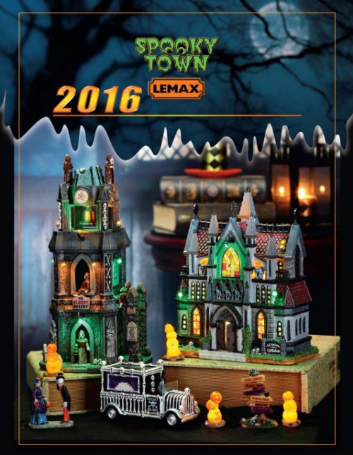 Lemax Spooky Town 2016 Collection