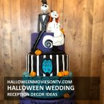 Halloween Wedding Cake Nightmare Before Christmas