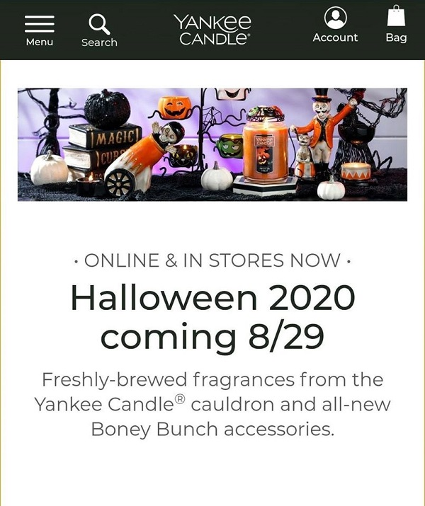 The 2020 Boney Bunch premiers August 29th at Yankee Candle