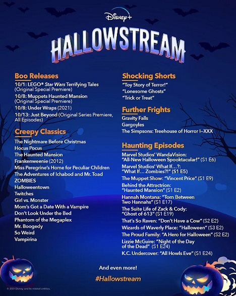 Disney+ runs amok with second annual Hallowstream celebration